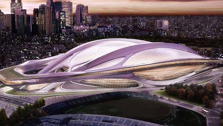 Stadion Nasional Jepang Copyright: © Daily Mail