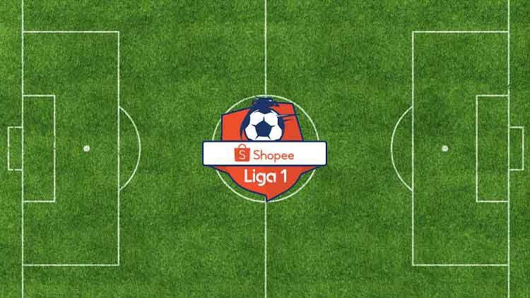 Logo Liga 1 2019. Copyright: © Eli Suhaeli/INDOSPORT/Shopee Liga 1