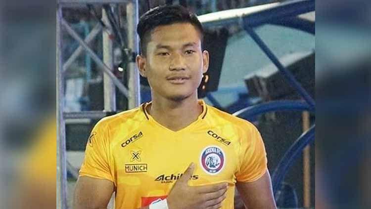 Striker Arema FC, Ahmad Nur Hardianto, menjelang laga Liga 1 2019. Copyright: © Ahmad Nur Hardianto