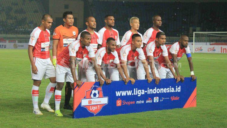 Skuat Persipura di Liga 1 2019. Copyright: © INDOSPORT/Arif Rahman