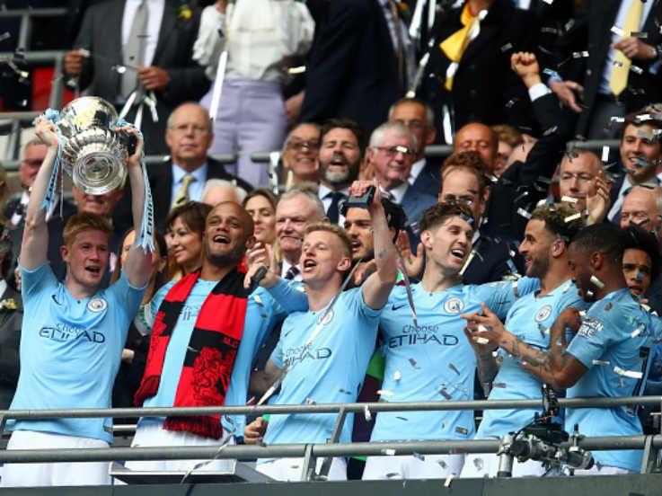 Hasil Pertandingan Final Piala FA Man City vs Watford: The Citizens Menang Besar