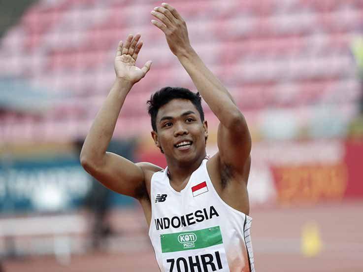 Pecahkan Rekor Nasional di Jepang, Lalu Muhammad Zohri Lolos ke Olimpiade 2020