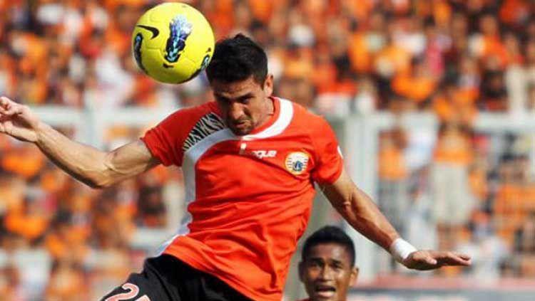 Mantan pemain Persija Jakarta, Pedro Javier. Copyright: © cornernews