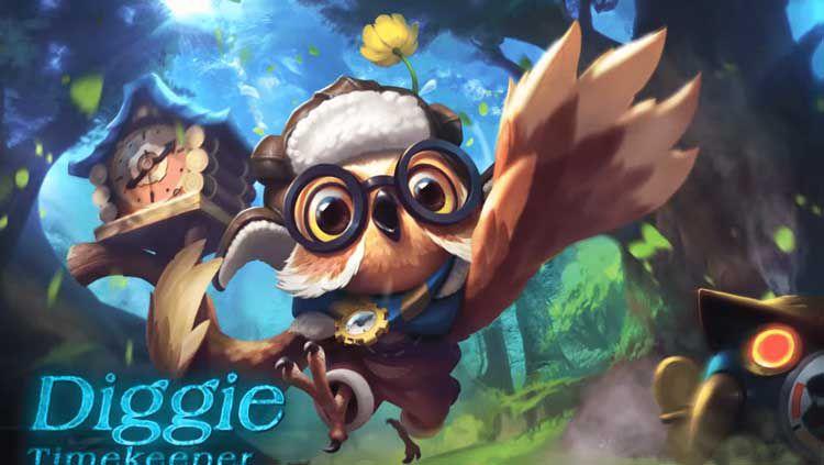 Diggie merupakan hero support Mobile Legends. Copyright: © akanagi.com