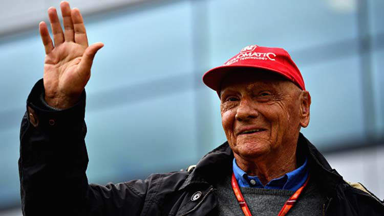 Niki Lauda legenda Formula 1 tutup usia. Dan Mullan/Getty Images Copyright: © Dan Mullan/Getty Images