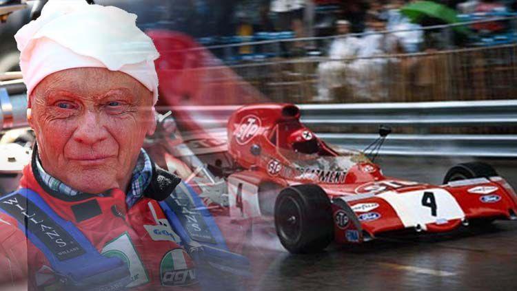Niki Lauda legenda Formula 1 tutup usia. Copyright: © The Advertiser