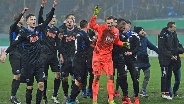 SC Paderborn 07 memastikan diri promosi ke Bundesliga Jerman musim 2019/20. Copyright: © News :: DFB - Deutscher Fußball-Bund eV