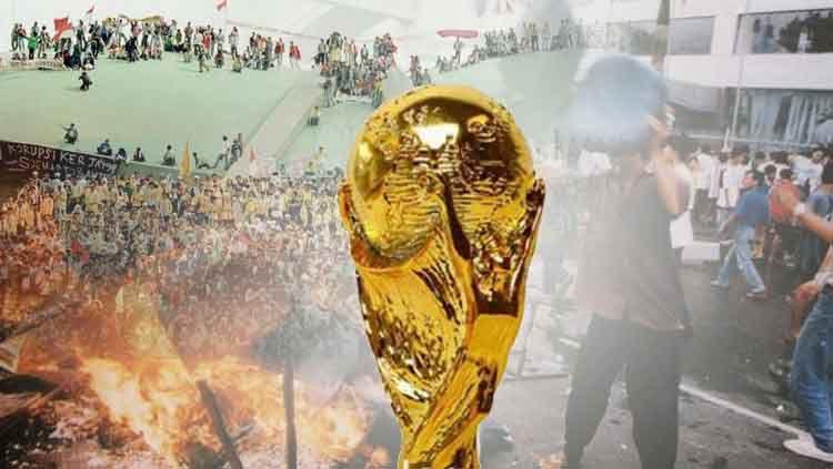 Piala Dunia dan krisis Mei 1998 Copyright: © eBay