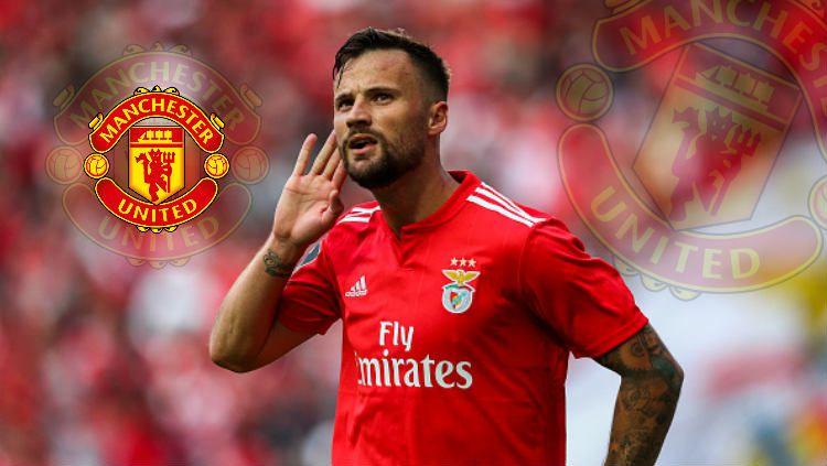 Haris Serefovic bisa jadi solusi lini depan Manchester United untuk musim 2019/20. Copyright: © Getty Images/INDOSPORT
