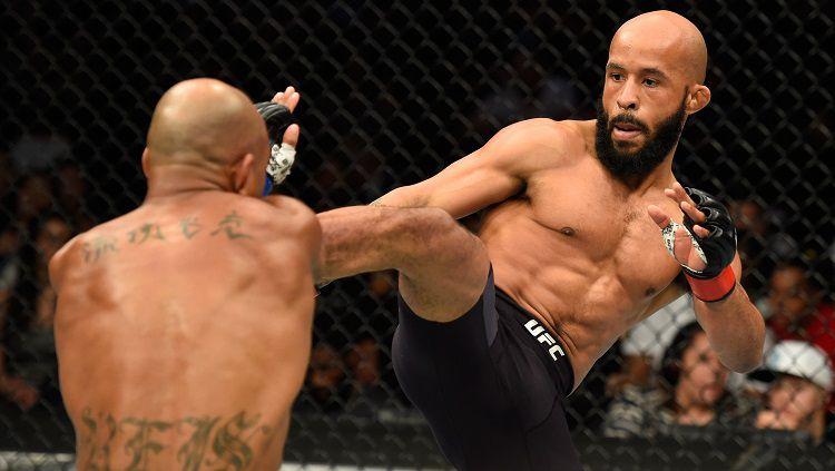 Demetrious Johnson, petarung MMA yang juga atlet eSports PUBG. Josh Hedges/Getty Images. Copyright: © Josh Hedges/Getty Images
