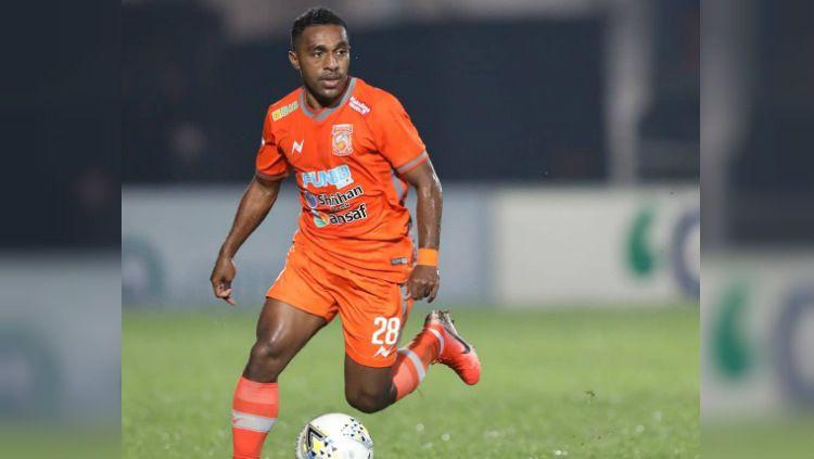 Terens Puhiri bermain gemilang ketika Borneo FC melibas Bali United dengan skor enam gol tanpa balas dalam lanjutan pekan ke-23 Liga 1 2019, Jumat (18/10/19). Copyright: © instagram.com/borneofc.id