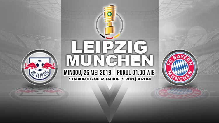 Pertandingan Leipzig vs Bayern Munchen. Grafis: Yanto/Indosport.com Copyright: © Grafis: Yanto/Indosport.com