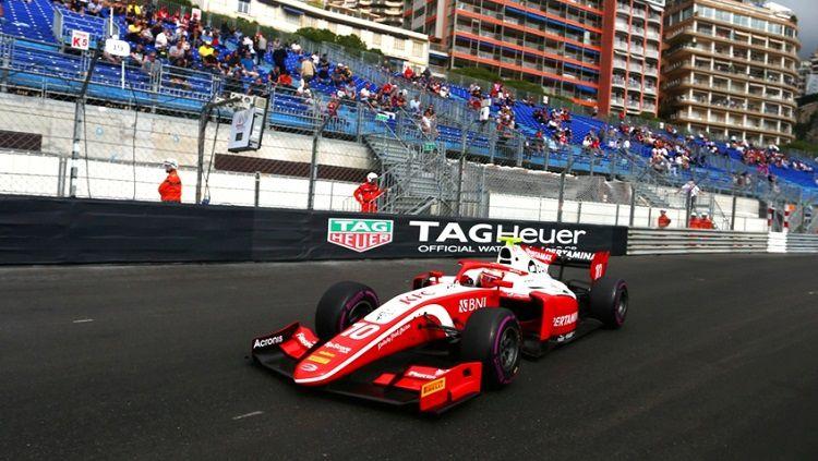 Sean Gelael di F2 Monaco 2019 Copyright: © http://sean-gelael.com