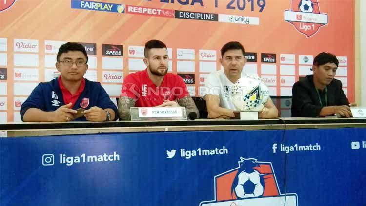 Libur hari raya Lebaran telah usai, klub Liga 1 PSM Makassar mendapat dukungan khusus dari pemerintah kota Makassar jelang laga lanjutan Piala AFC 2019. Copyright: © Zainal Hasan/INDOSPORT
