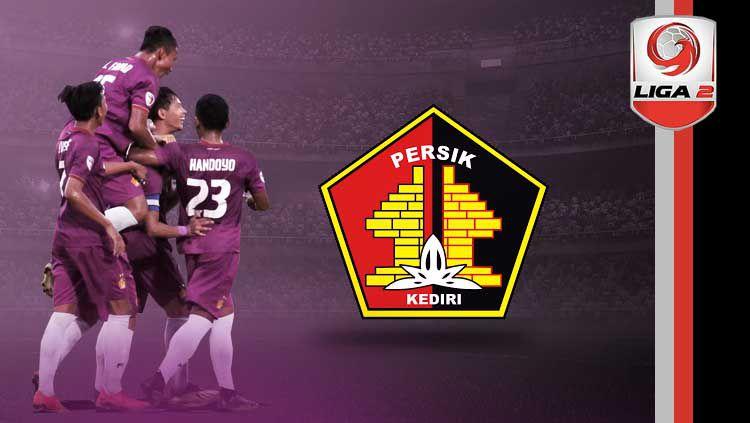 Profil tim Persik Kediri Liga 2 2019. Copyright: © persikfcofficial/Eli Suhaeli/INDOSPORT