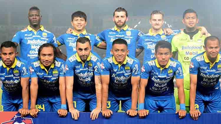 Skuat Persib Bandung di Liga 1 2019. Copyright: © Twitter/@persib