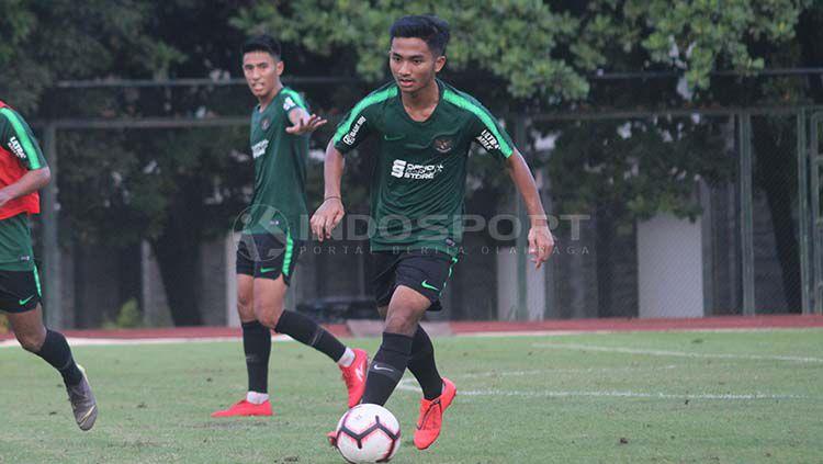 Hambali Tolib dipanggil training center Timnas Indonesia U-23. Copyright: © Ronald Seger Prabowo/INDOSPORT