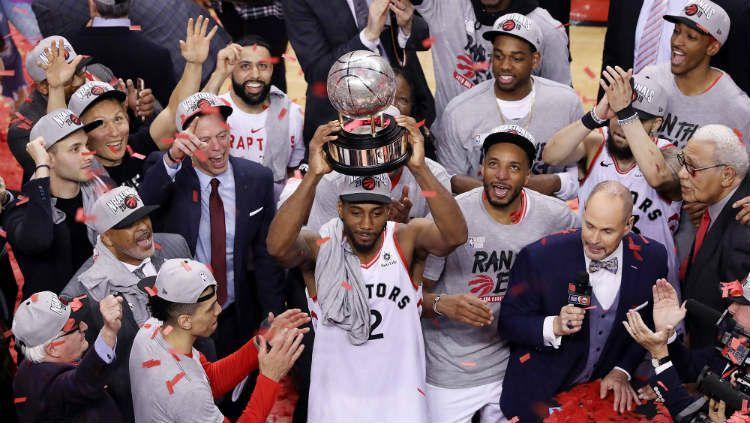 Toronto Raptors melangkah ke final NBA untuk pertama kalinya. Copyright: © The San Francisco Examiner
