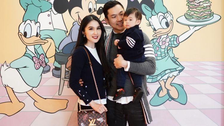 Sandra Dewi bersama Suami dan Anaknya yang Tengah Liburan ke Disney Copyright: © instagram.com/raphaelmoeis/