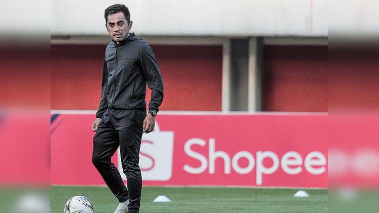 Seto Nurdiantoro, pelatih PSS Sleman Copyright: © pssleman