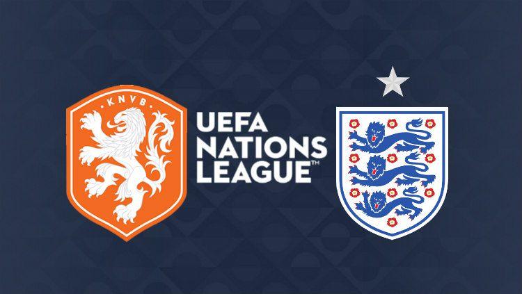 Jadwal dan Live Streamin Pertandingan Pertandingan Semifinal UEFA Nations League antara Belanda vs Inggris. (Foto: uefa.com/INDOSPORT) Copyright: © uefa.com/INDOSPORT