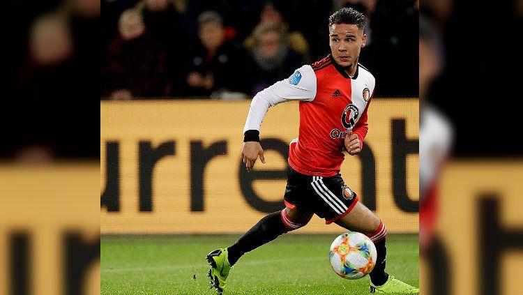 Calvin Verdonk, Pemain Keturunan Indonesia di Feyenoord Copyright: © https://www.instagram.com/calvinverdonk24/