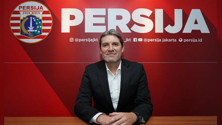 Pelatih baru Persija Jakarta, Julio Banuelos Saez. Copyright: © Media Persija