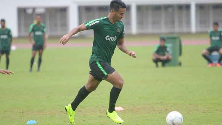 Pemain Timnas Indonesia U-23, Muhammad Rafli mendapat pujian dari Arema FC. Copyright: © Instagram @muhammadrf