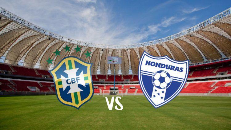Pertandingan persahabatan FIFA Match Day Brasil vs Honduras, Senin (10/06/19) dini hari WIB. (Foto: stadiumdb.com/INDOSPORT) Copyright: © stadiumdb.com/INDOSPORT