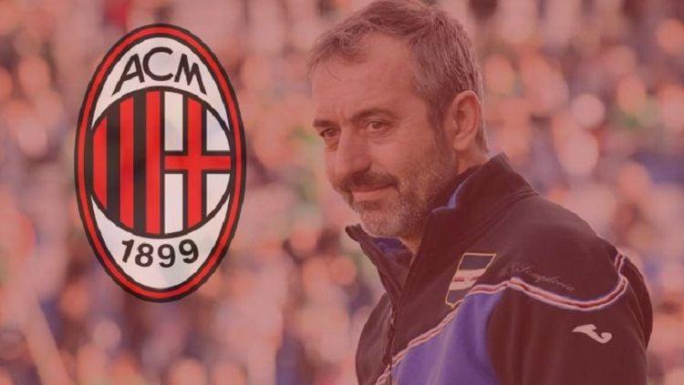 Pihak AC Milan kabarnya meragukan kemampuan pelatih sepak bola mereka, Marco Giampaolo. Copyright: © Milan Talk