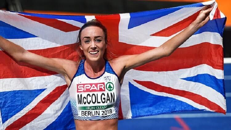 Eilish McColgan semakin bersemangat olahraga lari setelah rumahnya kerampokan. Copyright: © athleticsweekly.com