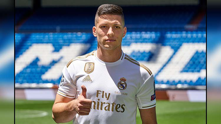 Luka Jovic, resmi diperkenalkan Real Madrid Copyright: © Quality Sport Images/GettyImages