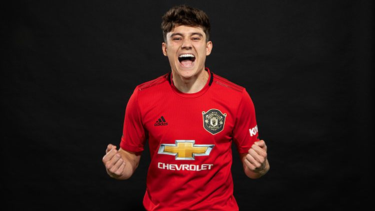 Daniel James, pemain baru Manchester United Copyright: © ManUnited/GettyImages