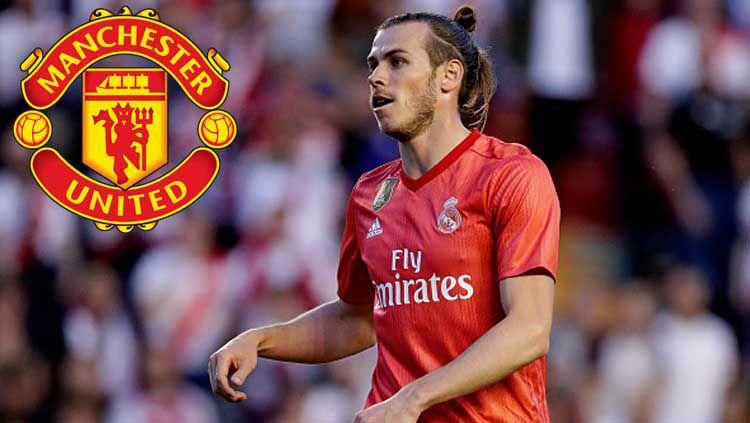 Bintang Real Madrid, Gareth Bale dikabarkan bakal bergabung dengan Manchester United. Copyright: © SocratesImages/GettyImages/StickPNG