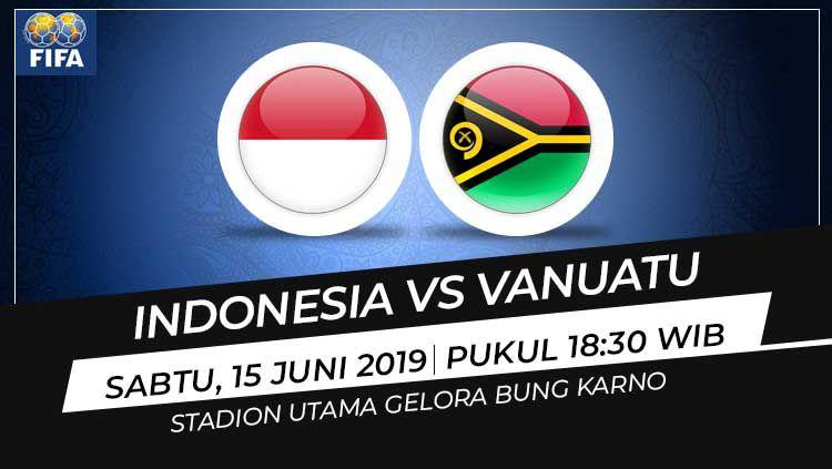Prediksi Indonesia vs Vanuatu Copyright: © INDOSPORT