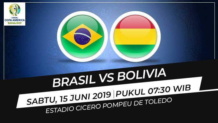 Prediksi Brasil vs Bolivia. Copyright: © INDOSPORT