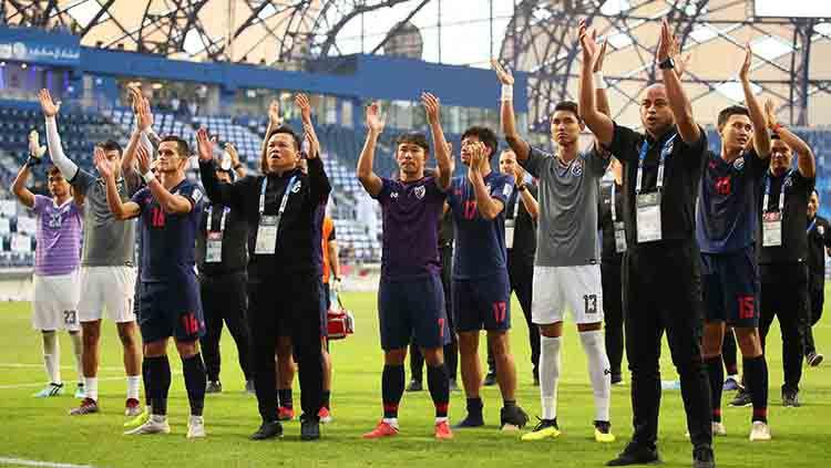 Timnas Thailand berada di Grup G Kualifikasi Piala Dunia 2022. Matthew Ashton - AMA/Getty Images. Copyright: © Matthew Ashton - AMA/Getty Images