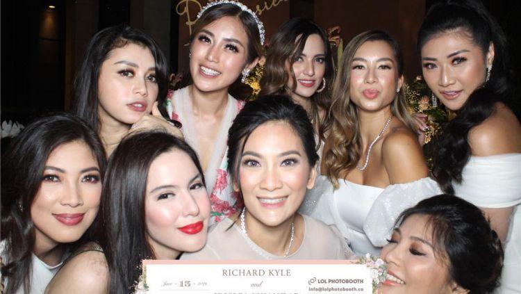 Girls Squad berkumpul dalam tunangannya Jessica Iskandar Copyright: © instagram.com/rozmasuhardi