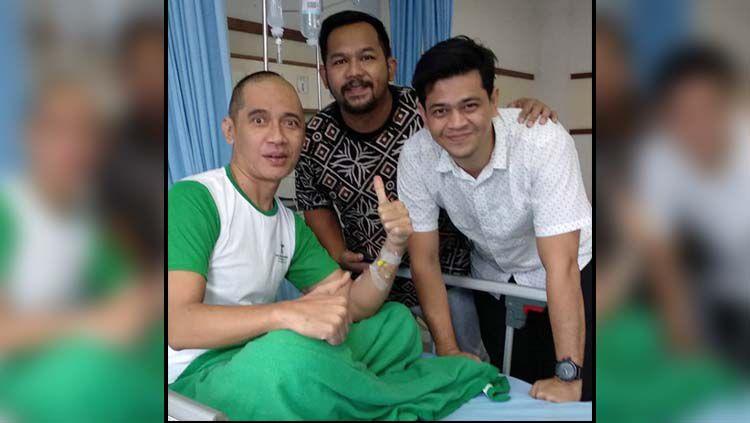Mantan atlet binaraga Indonesia, Agung Hercules terkena kanker otak Copyright: © Instagram Agung Hercules