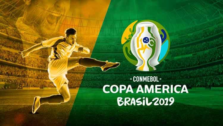 Logo Copa America 2019 Copyright: © Wikipedia/Eli Suhaeli/INDOSPORT