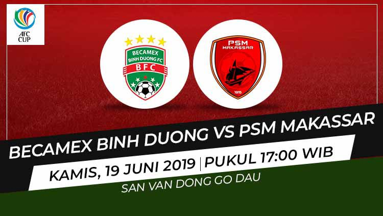 Becamex Binh Duong vs PSM Makassar Copyright: © Wikipedia/Eli Suhaeli/INDOSPORT