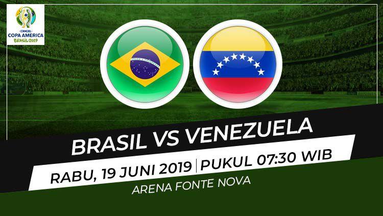 Prediksi Brasil vs Venezuela Copyright: © Wikipedia/Eli Suhaeli/INDOSPORT