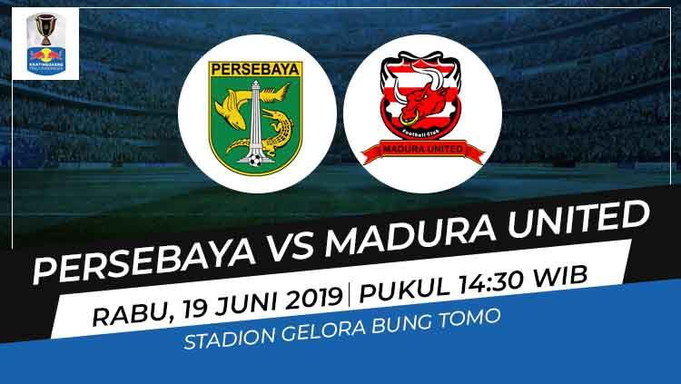 Prediksi Persebaya Surabaya vs Madura United Copyright: © Wikipedia/Eli Suhaeli