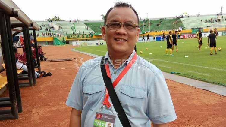 Achmad Haris, Staf Khusus Bidang Olahraga Kabupaten Musi Banyuasin (Muba). Foto: Muhammad Effendi/INDOSPORT Copyright: © Muhammad Effendi/INDOSPORT