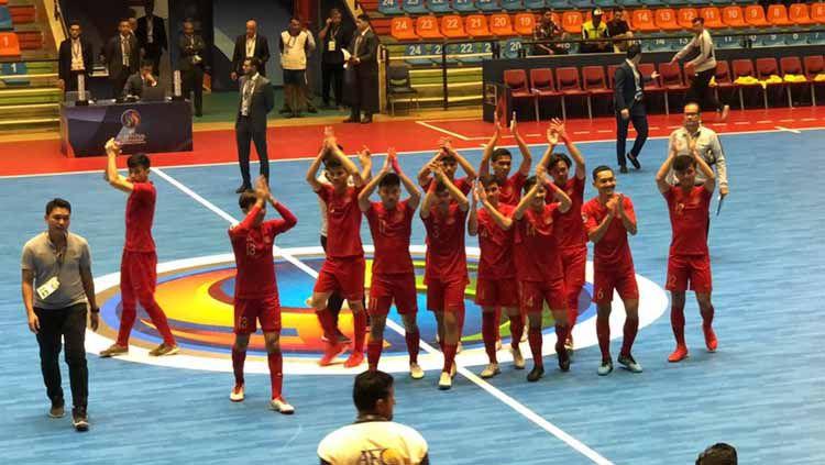 Timnas Futsal Indonesia U-20. Copyright: © Twitter/@kbri_tehran
