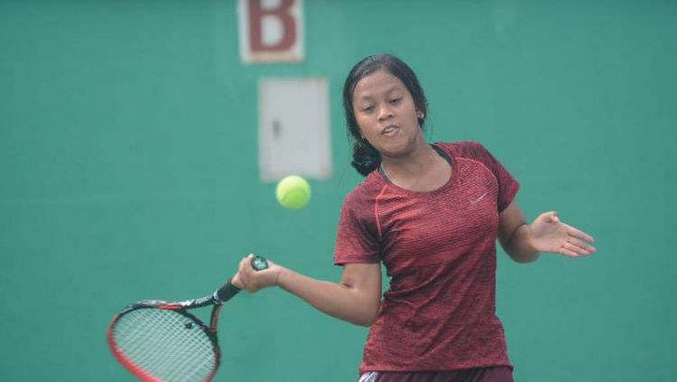 Komang Gina Kusuma, petenis junior asal Singaraja, Bali. Copyright: © Detec Open via Tempo.co