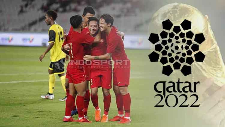 Timnas Indonesia dan Piala Dunia Qatar 2022. Copyright: © Herry Ibrahim/INDOSPORT