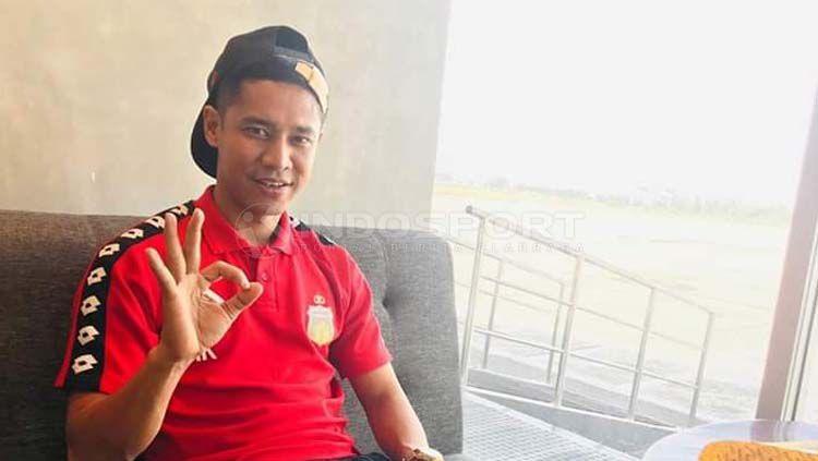Indra Kahfi Ardhiyasa selaku kapten Bhayangkara FC menyadari bahwa klub kebanggaannya jauh berada dalam posisi yang sudah ditargetkan di awal musim Liga 1 2019. Copyright: © Nofik Lukman Hakim/INDOSPORT
