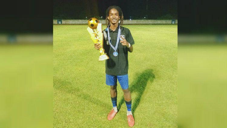 Ronaldo Kwateh, pemain Persib yang dipanggil ke Timnas Indonesia U-16. Copyright: © https://www.instagram.com/ronaldokwateh_11/