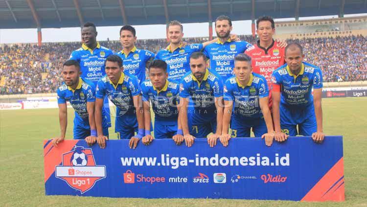 Skuat Persib Bandung. Foto: Arif Rahman/INDOSPORT Copyright: © Arif Rahman/INDOSPORT